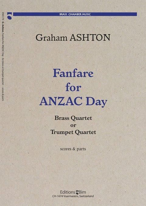 Ashton Graham Fanfare For Anzac Ens179