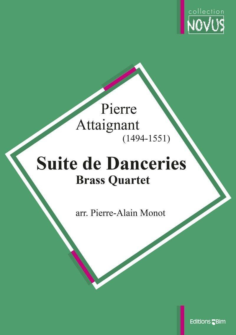 Attaignant Pierre Suite De Danceries Ens18