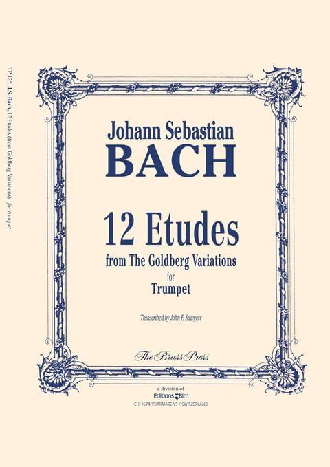 Bach 12 Etudes Tp125