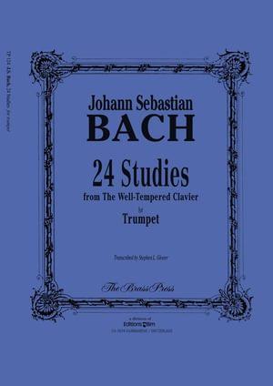 Bach Johann Sebastian 24 Studies Tp124