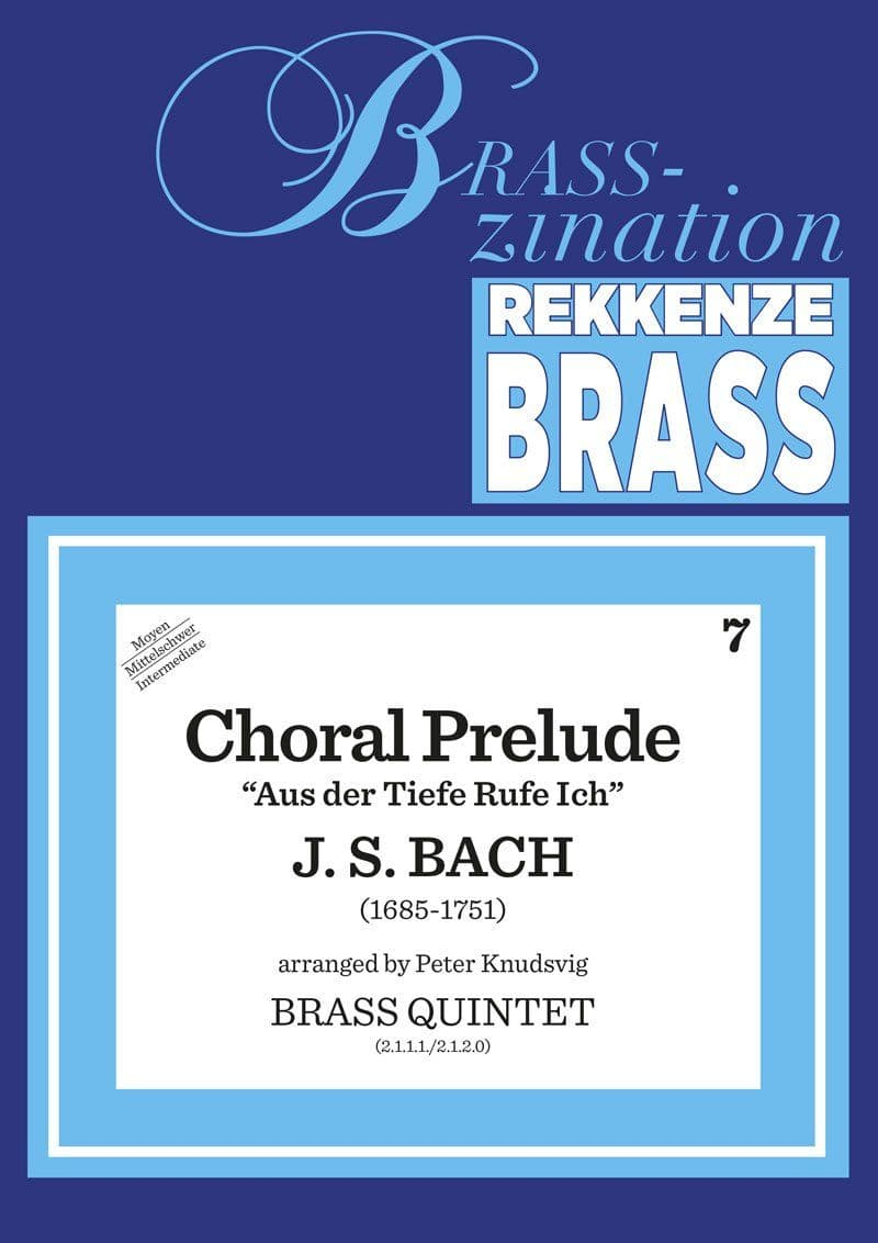 Bach Johann Sebastian Chorale Prelude Ens11