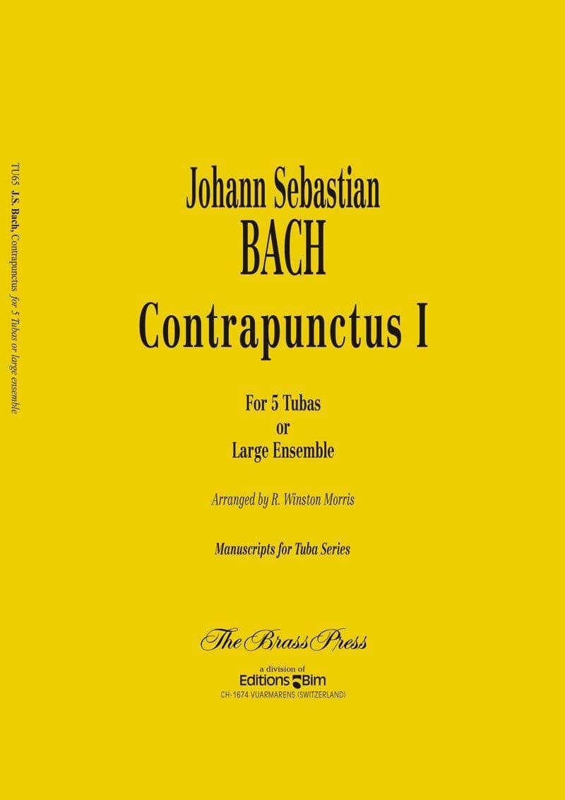 Bach Johann Sebastian Contrapunctus 1 Tu65