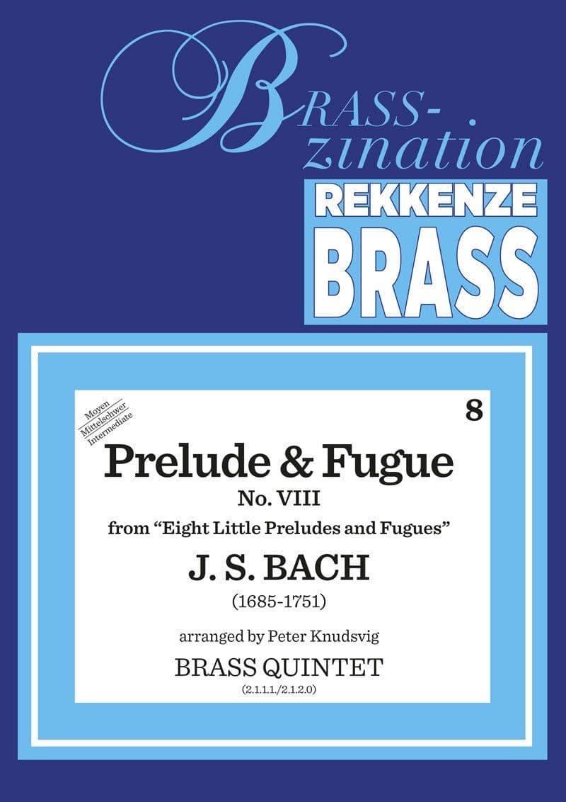 Bach Johann Sebastian Prelude And Fugue Ens12
