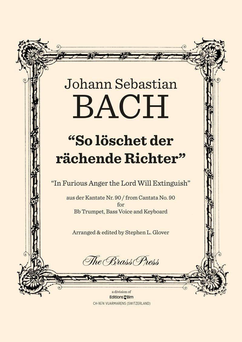 Bach Johann Sebastian So Loechet Der Raechende Richter Tp126