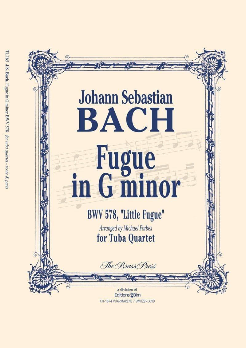 Bach Johann Sebastian  Fugue In G Minor Tu165