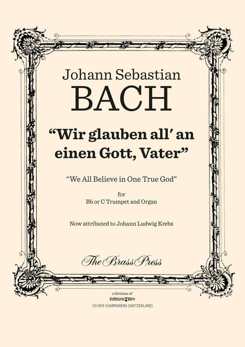 Bach Johann Sebastian Wir Glaube All Tp128
