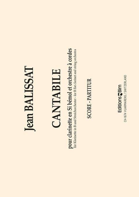 Balissat Jean Cantabile Cl2