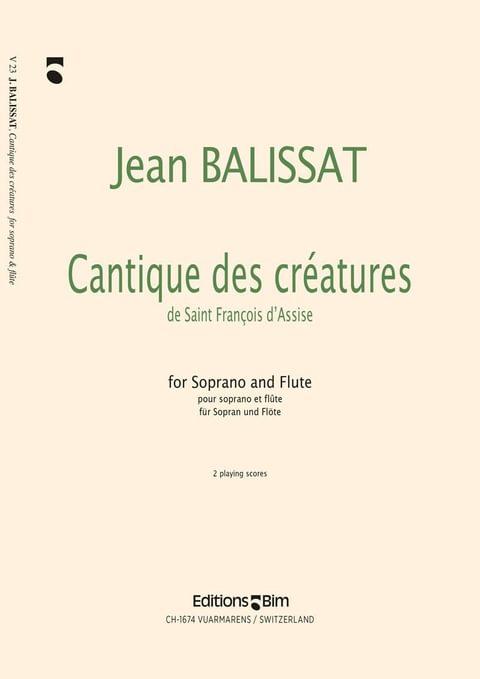 Balissat Jean Cantique Des Creatures V23