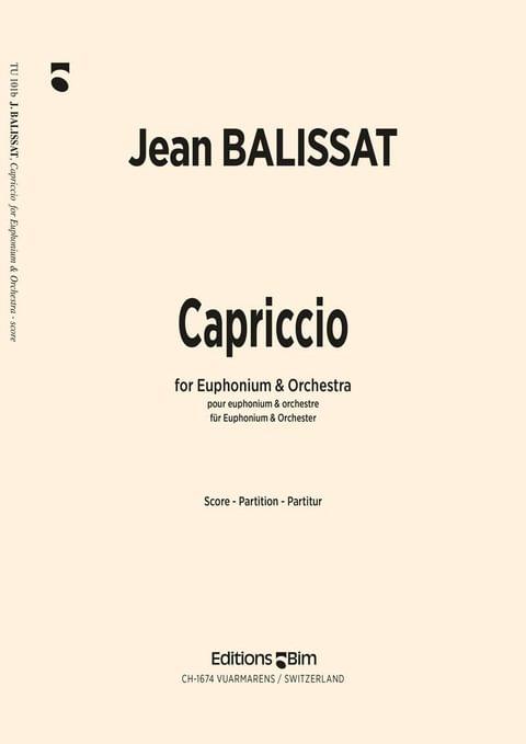 Balissat Jean Caproccio Euphonium Tu101