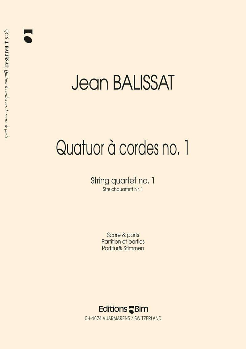 Balissat Jean Quatuor A Cordes No 1 Qc6