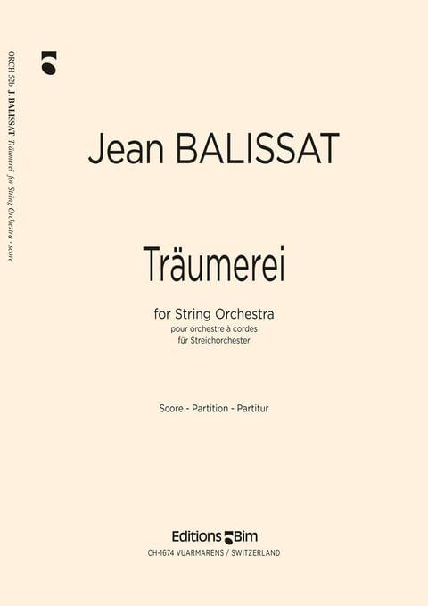 Balissat Jean Traumerei Orch52