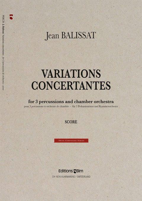 Balissat Jean Variations Concertantes Perc2