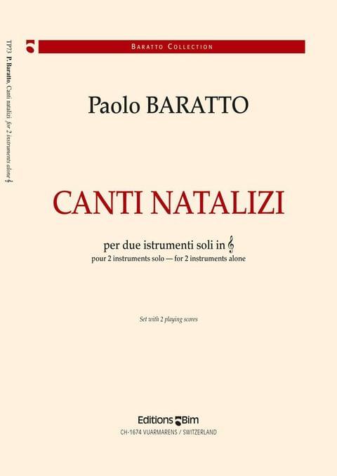 Baratto Paolo Canto Natalizi Tp73