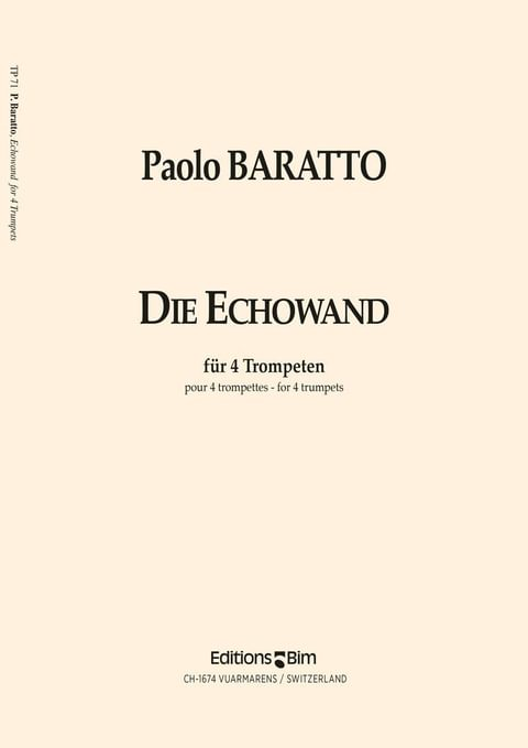 Baratto Paolo Echowand Tp71