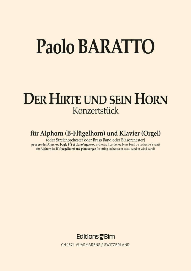 Baratto Paolo Hirte Und Sein Horn Co37A