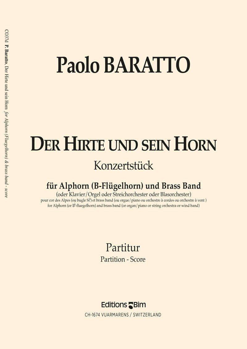 Baratto Paolo Hirte Und Sein Horn Co37De