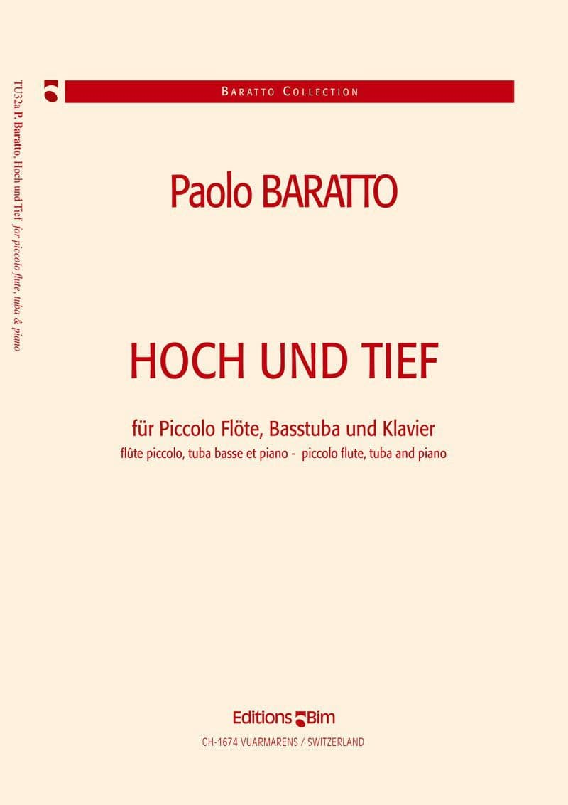 Baratto Paolo Hoch Und Tief Tu32