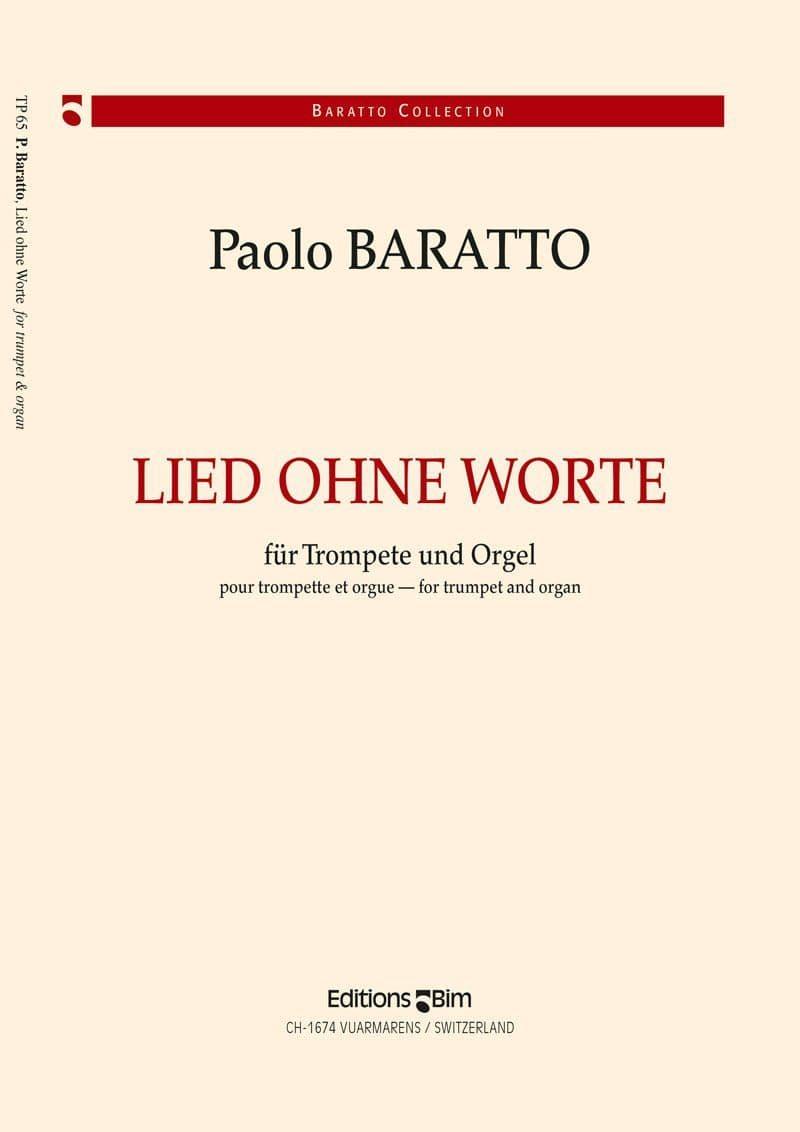 Baratto Paolo Lied Ohne Worte Tp65