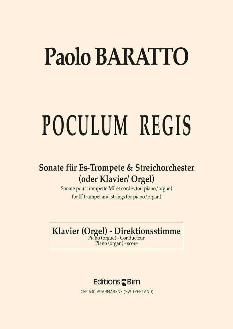 Baratto Paolo Poculum Regis Tp68