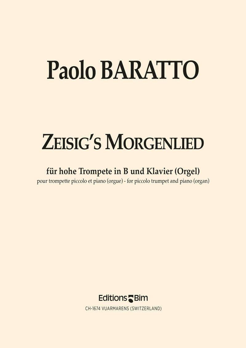 Baratto Paolo Zeisigs Morgenlied Tp77