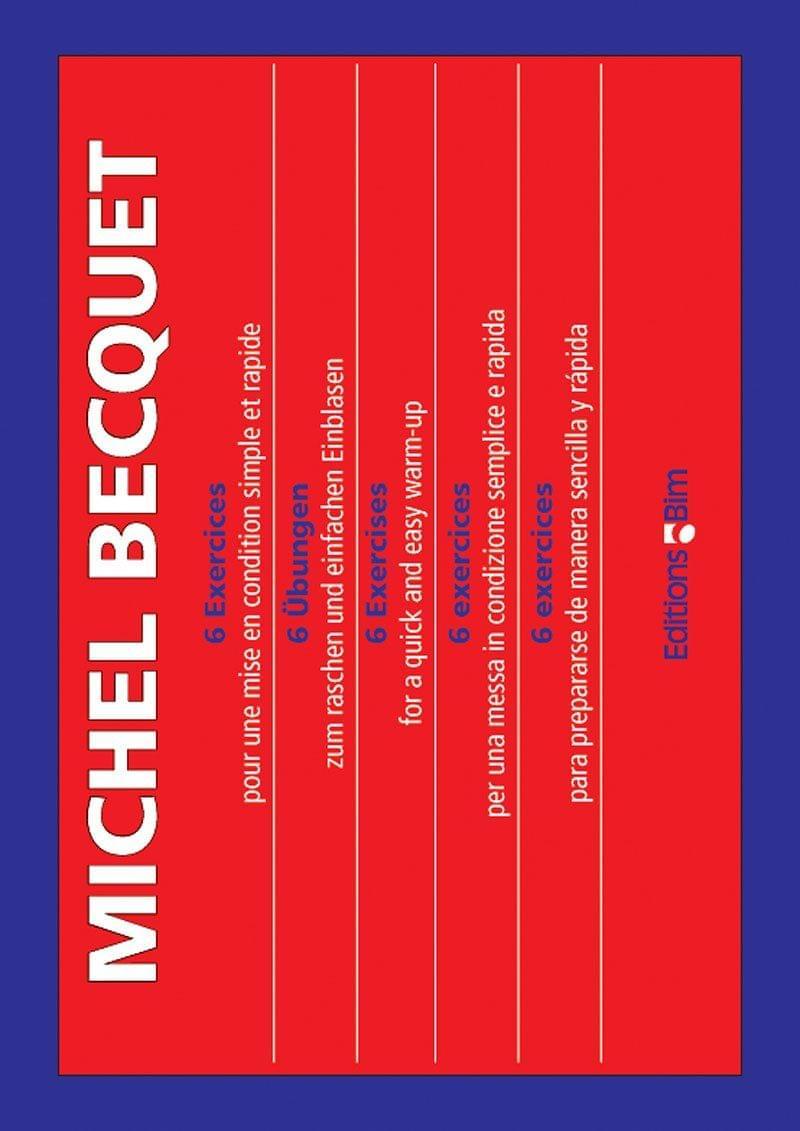 Becquet Michel 6 Exercices Tb13