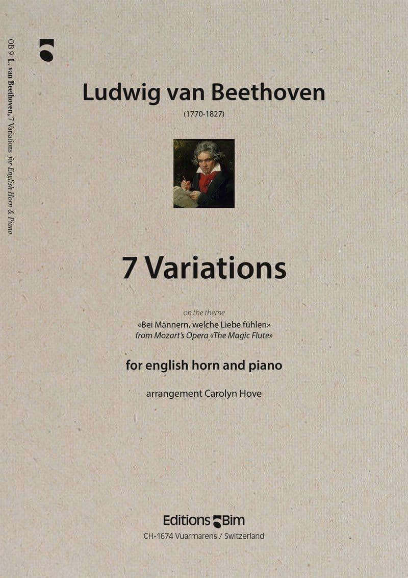 Beethoven Ludwig Van 7 Variations Ob9