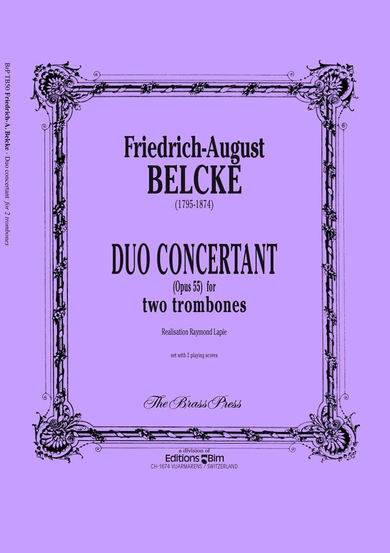 Belcke Friedrich August Duo Concertant Tb50