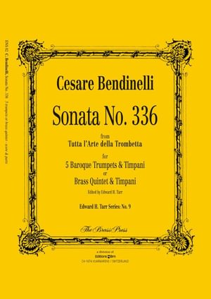 Bendinelli Cesare Sonata 336 Ens82