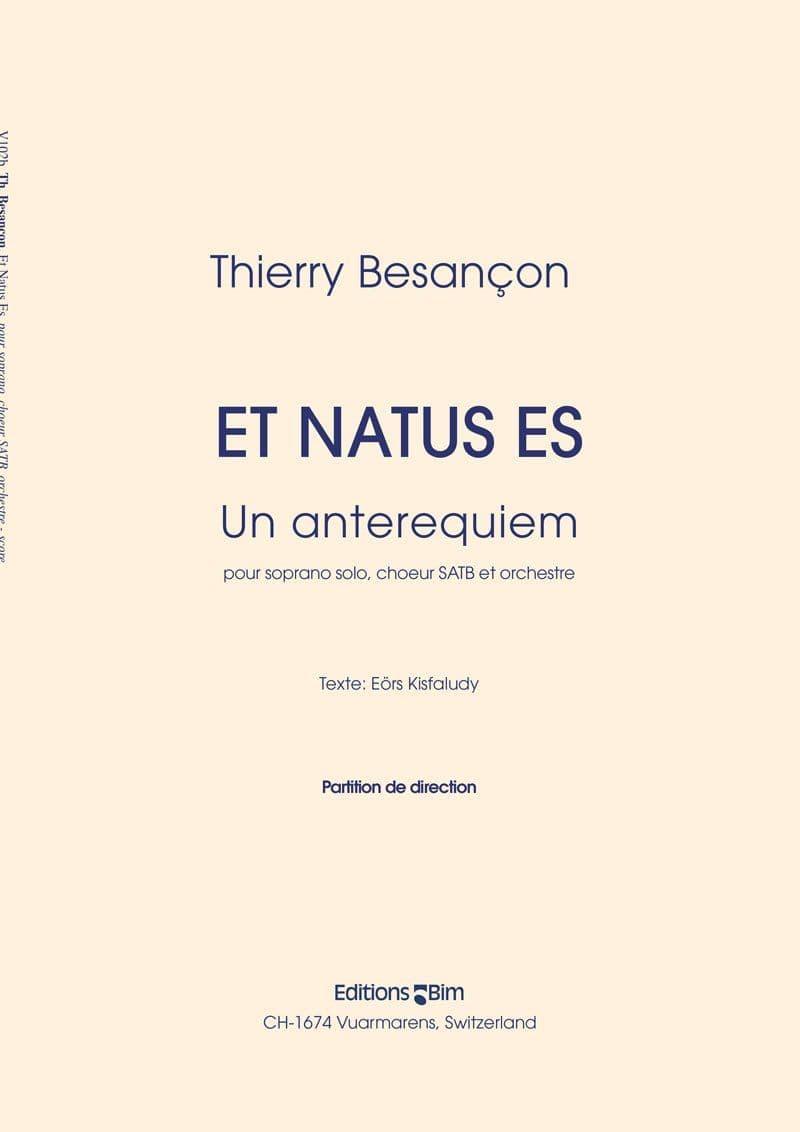Besancon Thierry Et Natus Es V102