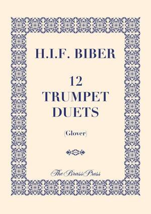Biber Heinrich 12 Trumpet Duets Tp131