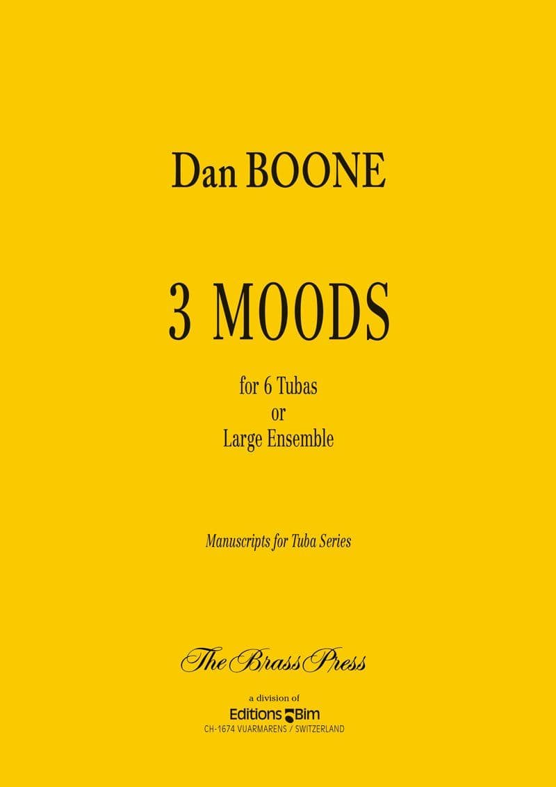 Boone Daniel 3 Moods Tu68