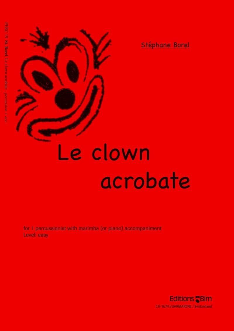 Borel Stephane Clown Acrobat Perc19