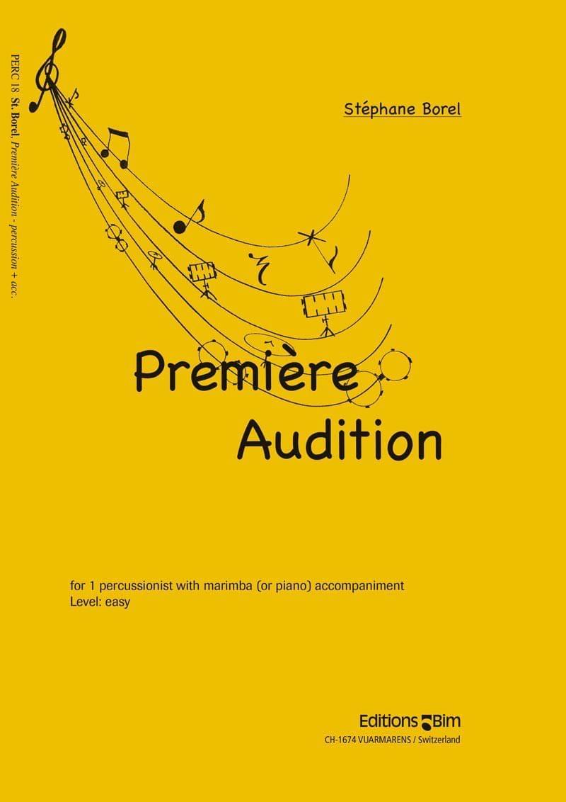 Borel Stephane Premiere Audition Perc18