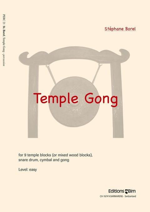 Borel Stephane Temple Gong Perc21