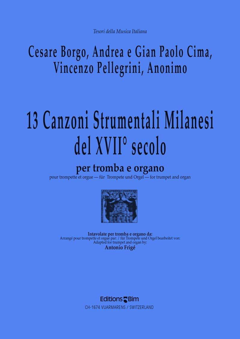 Borgo Cima Pellegrini 13 Canzoni Milanesi Tp93