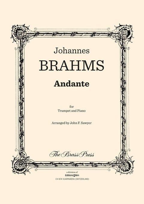 Brahms Johannes Andante Tp134