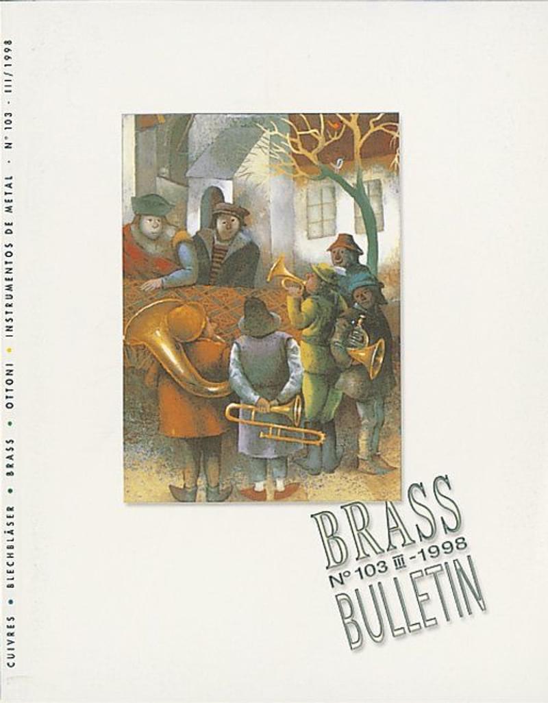 Brass Bulletin No 103 1998