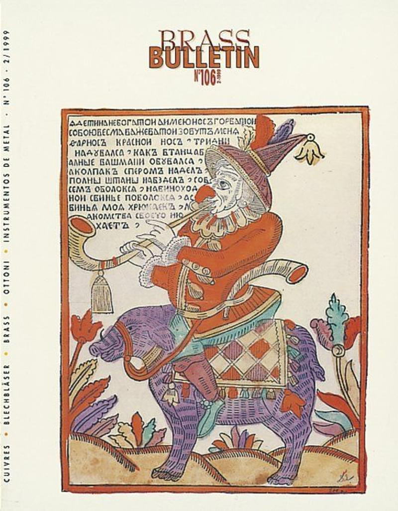 Brass Bulletin No 106 1999