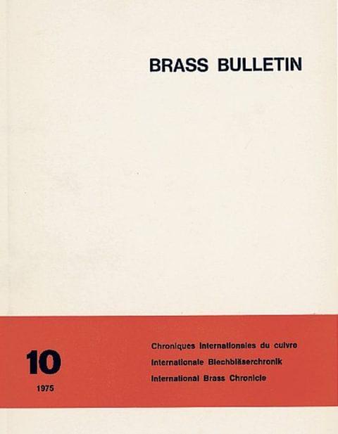 Brass Bulletin No 10 1975