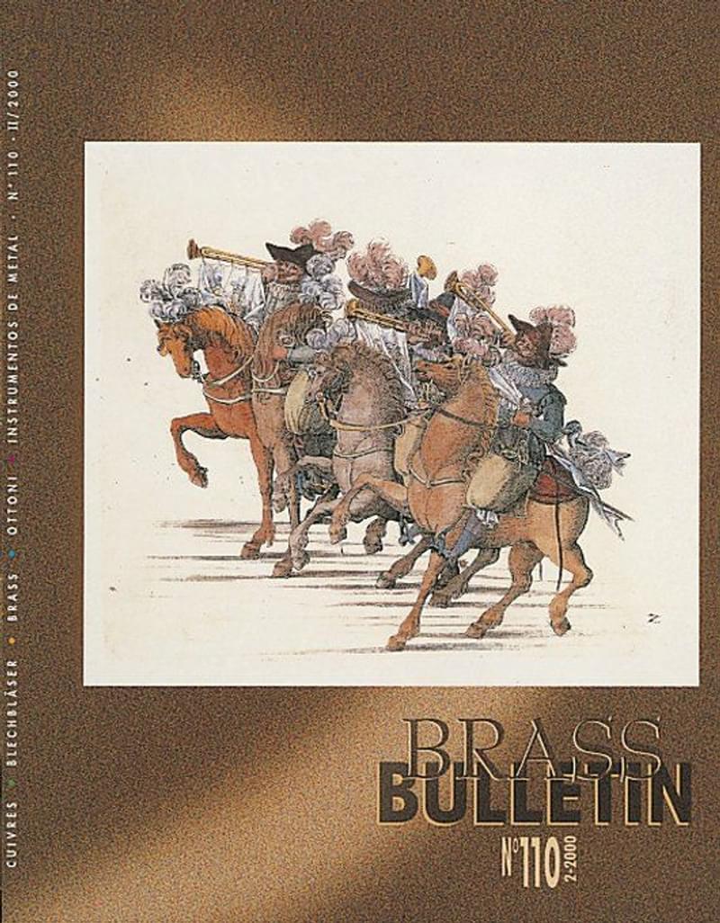 Brass Bulletin No 110 2000