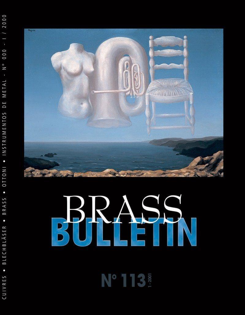 Brass Bulletin No 113 2001