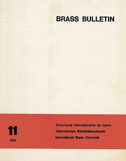 Brass Bulletin No 11 1975