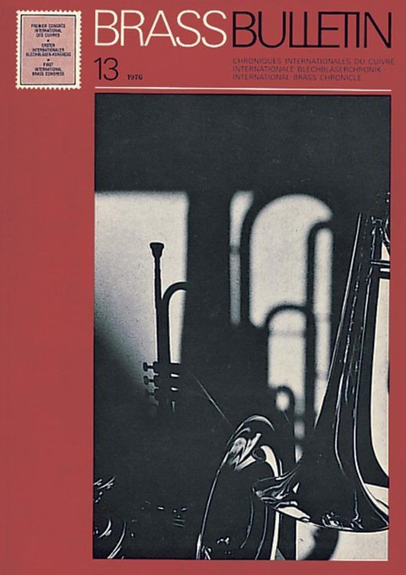 Brass Bulletin No 13 1976