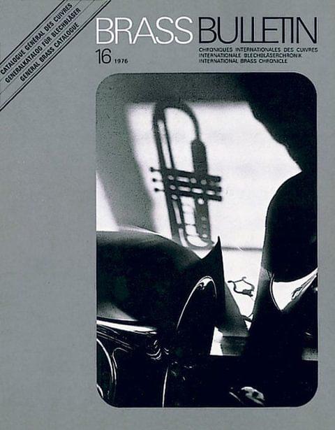Brass Bulletin No 16 1976