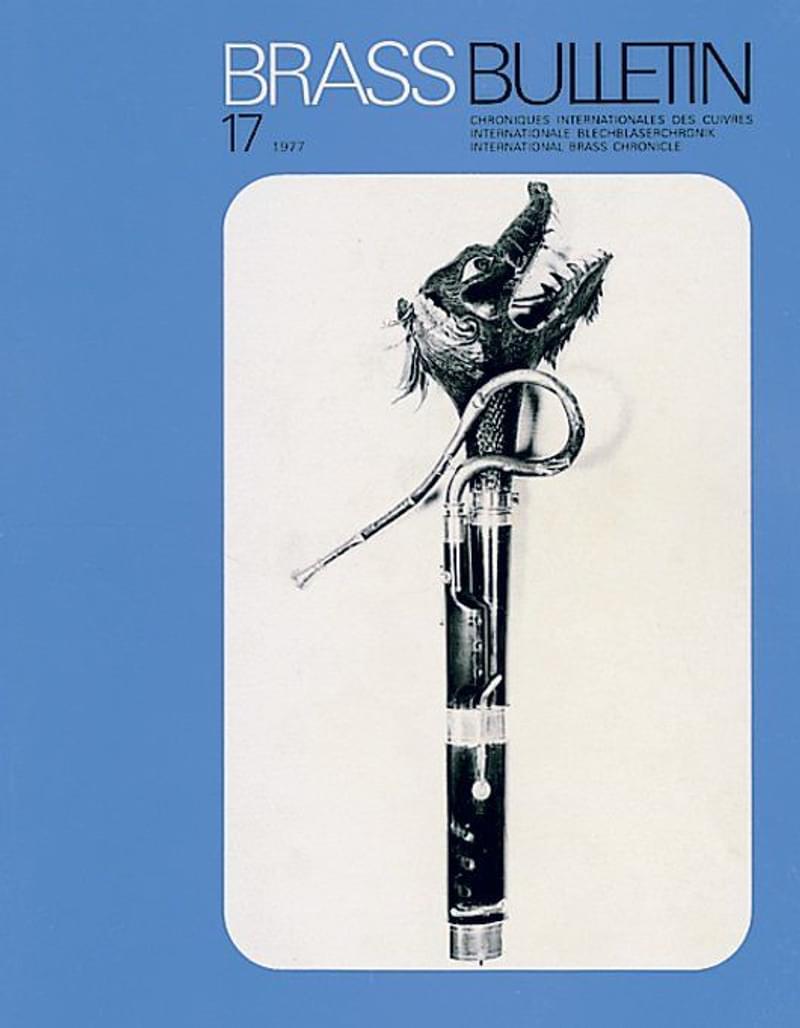 Brass Bulletin No 17 1977