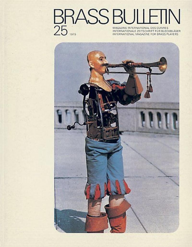 Brass Bulletin No 25 1979