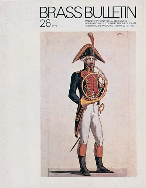 Brass Bulletin No 26 1979