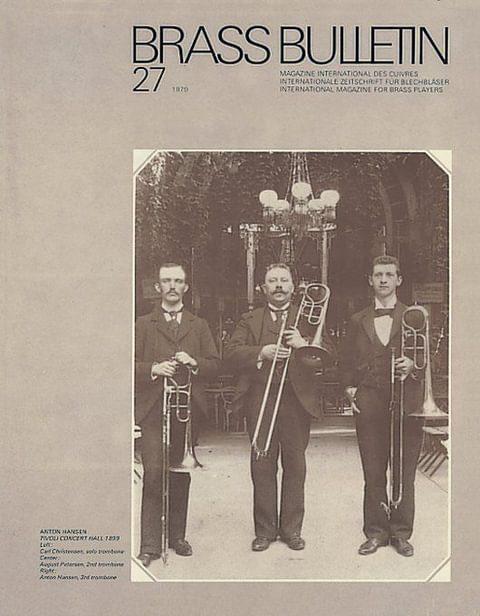 Brass Bulletin No 27 1979
