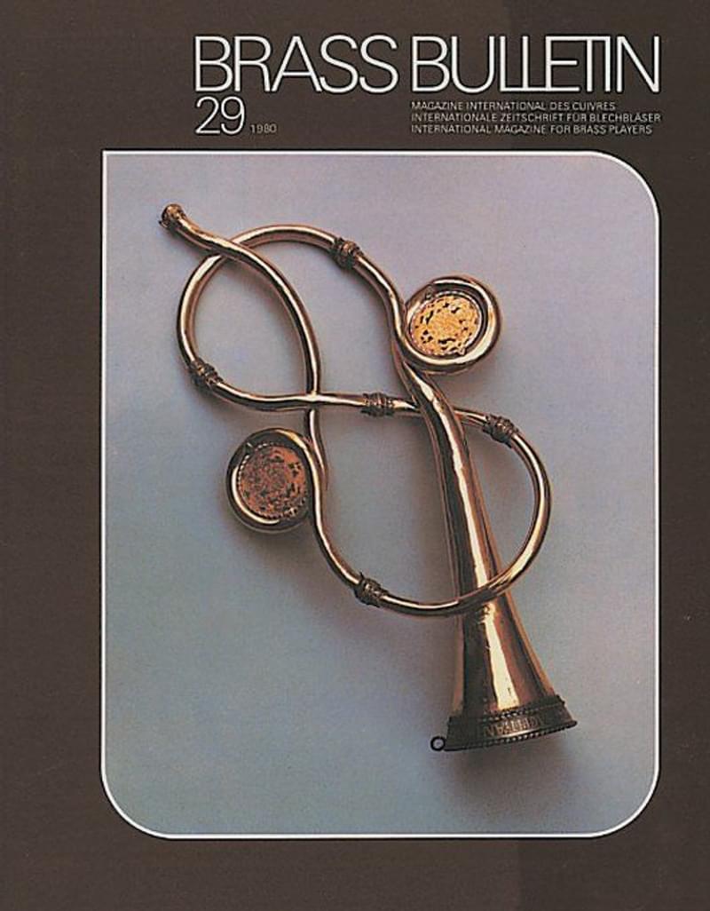 Brass Bulletin No 29 1980