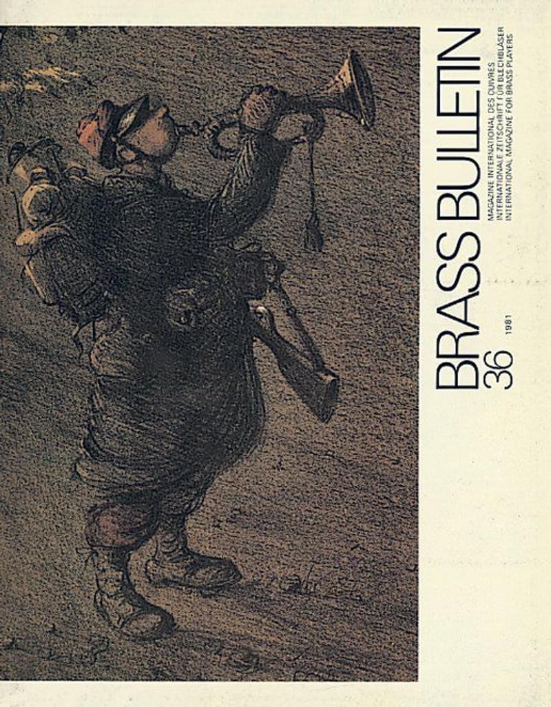 Brass Bulletin No 36 1981